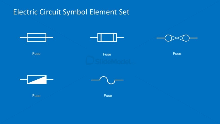 PowerPoint Fuse Symbols For Electrical Diagrams