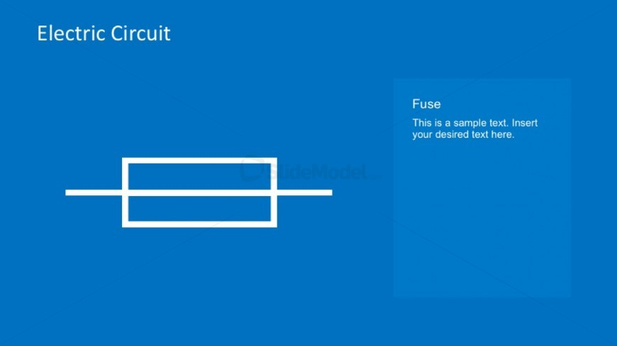 PPT Template Electrical Circuits Fuse