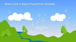 PowerPoint Slide of Precipitation Stage of Water Cycle