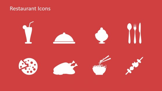 Restaurant Icon Clipart for PowerPoint