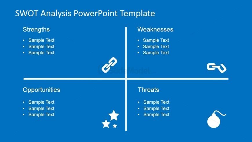 SWOT Analysis PowerPoint Chart