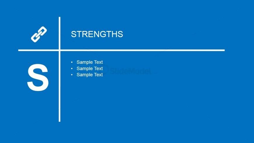 Strengths Slide Design for PowerPoint
