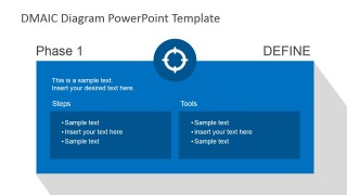 DMAIC Define Slide Design for PowerPoint