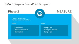 DMAIC Measure Slide Design for PowerPoint