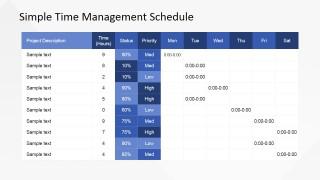 Timetable PowerPoint Presentation