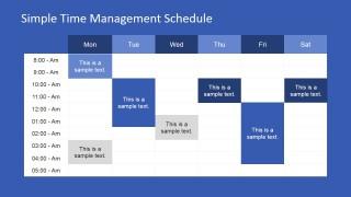 Weekly Timeline PowerPoint Presentation