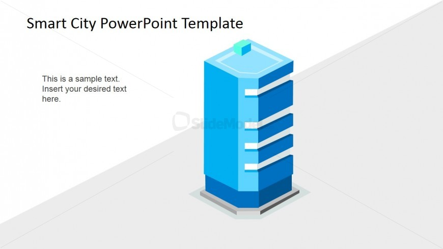 PowerPoint Shape of Smart Building