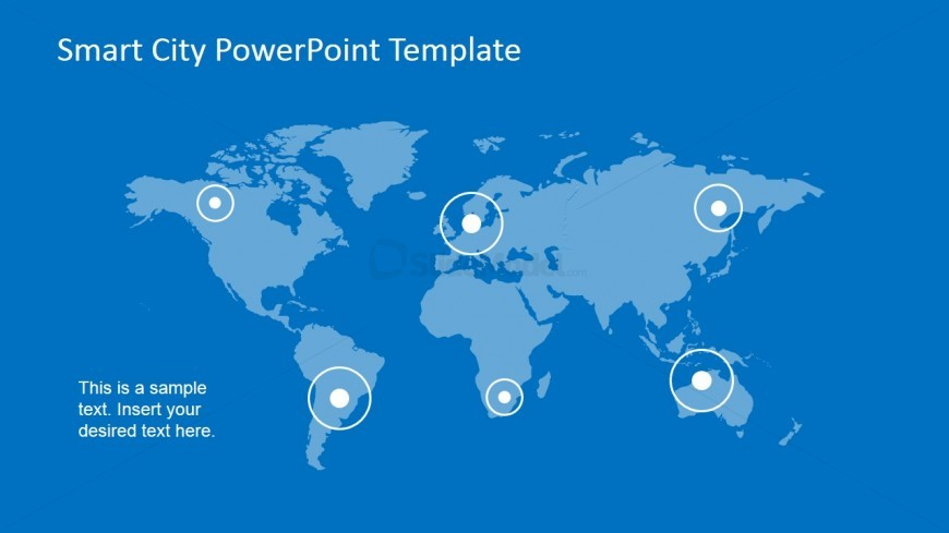 power point world map