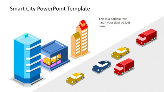 Smart City 3D PowerPoint Icons