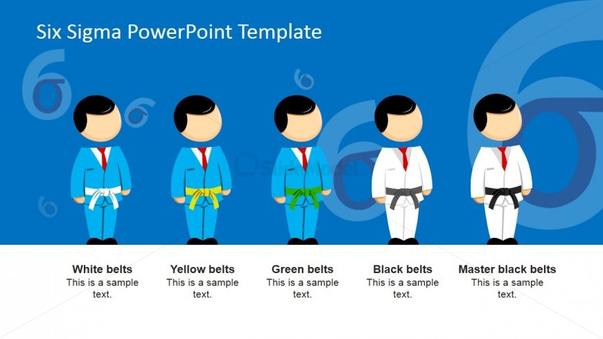 six sigma roles powerpoint presentation - slidemodel, Presentation templates