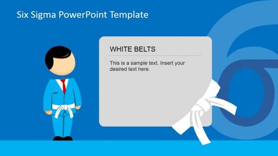 Six Sigma White Belt PowerPoint Slide