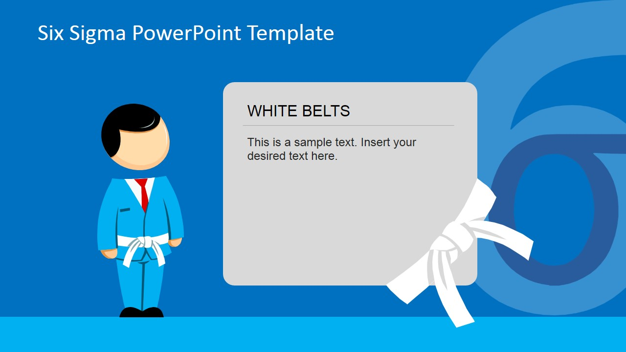 Six Sigma Belts PowerPoint Template
