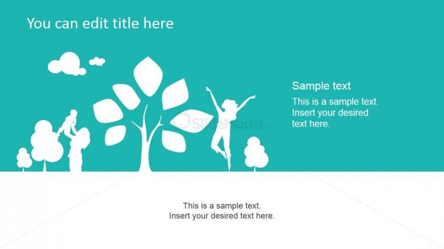 Green Nature PowerPoint Slide Design