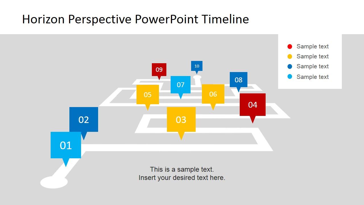 Timeline Milestone PowerPoint Template SlideModel - Milestone timeline template