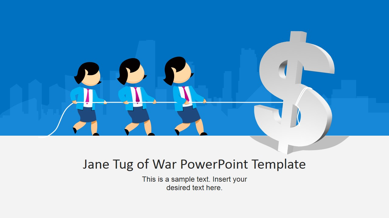 tug of war powerpoint templates, Power Point Presentation Template War, Presentation templates