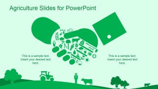 Green agriculture template for powerpoint slidemodel green agriculture template for powerpoint is a ppt template for microsoft powerpoint that you can download and use to make presentations on agriculture and toneelgroepblik Image collections