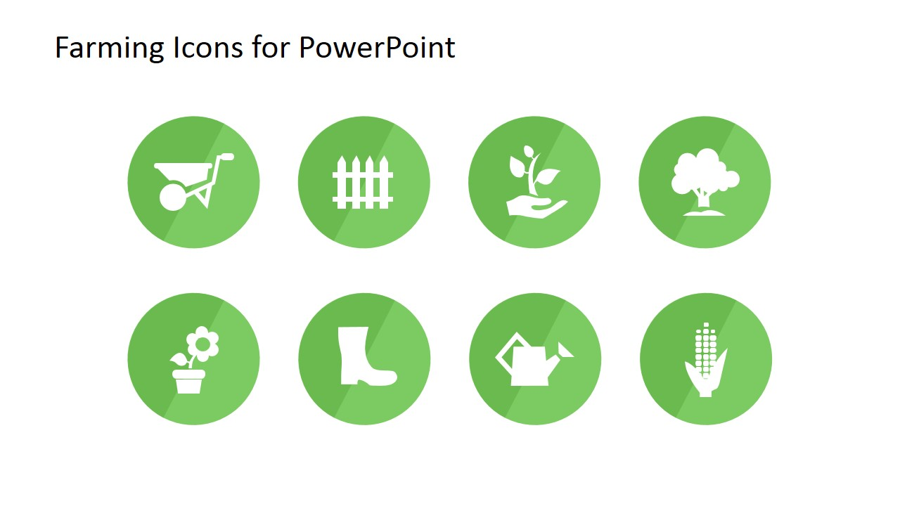 Farming icons for powerpoint slidemodel eight farming icons for powerpoint on agriculture toneelgroepblik Image collections