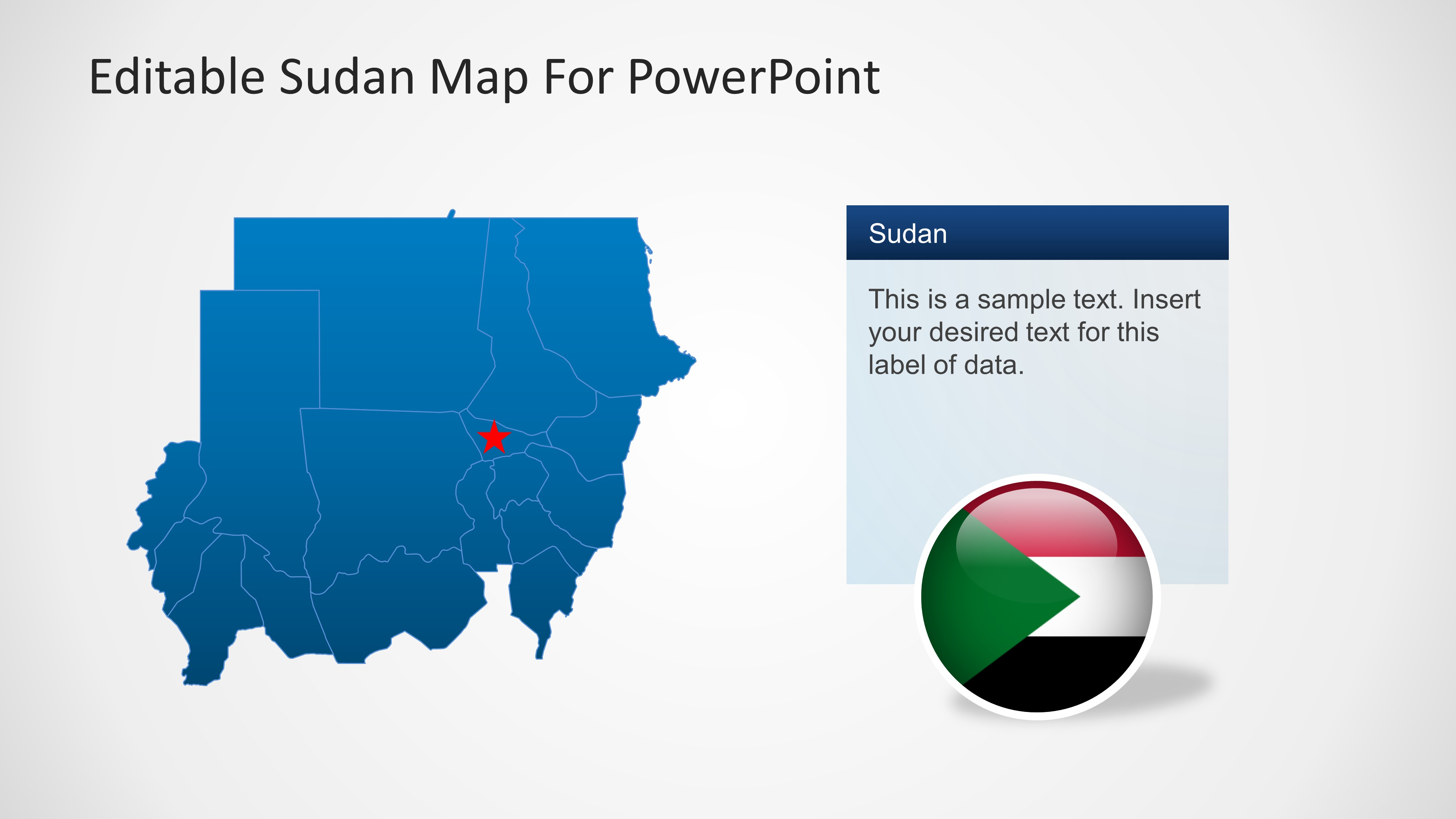Sudan Country Map