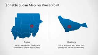 Sudan PowerPoint Maps