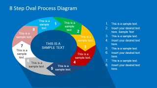 PowerPoint Circular Diagram 8 Steps