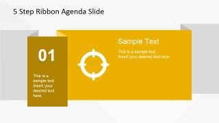 01 Ribbon Slide Design for PowerPoint