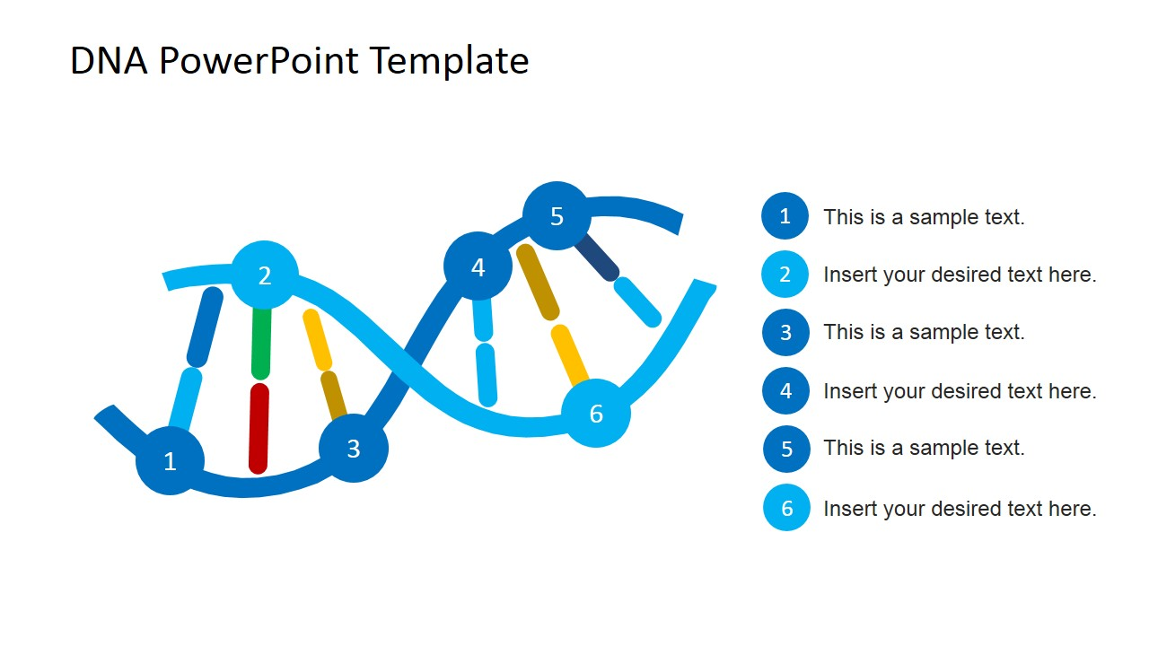 DNA Strands PowerPoint Template - SlideModel