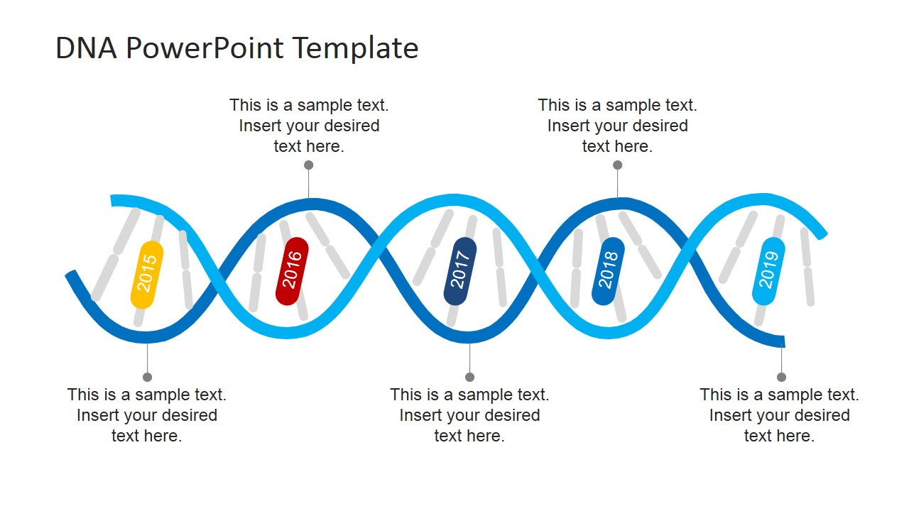 dna strands powerpoint template slidemodel