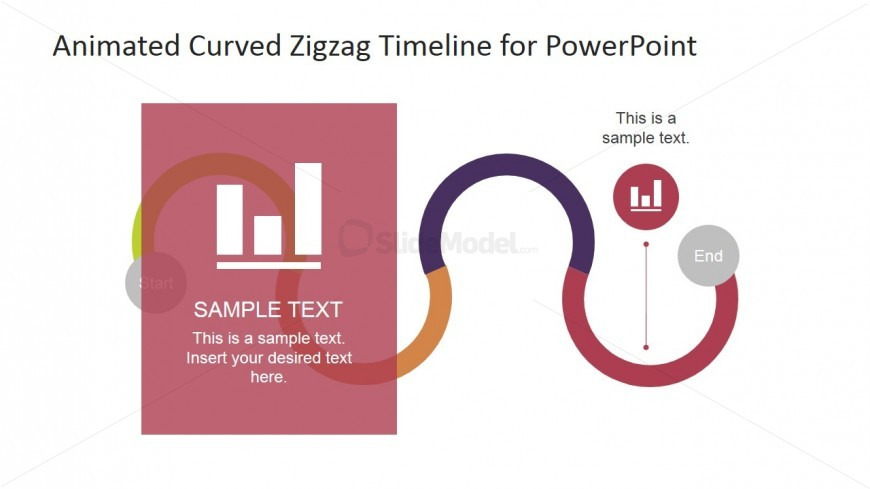 PowerPoint Fourth Segment Highlight and Clipart Barchart