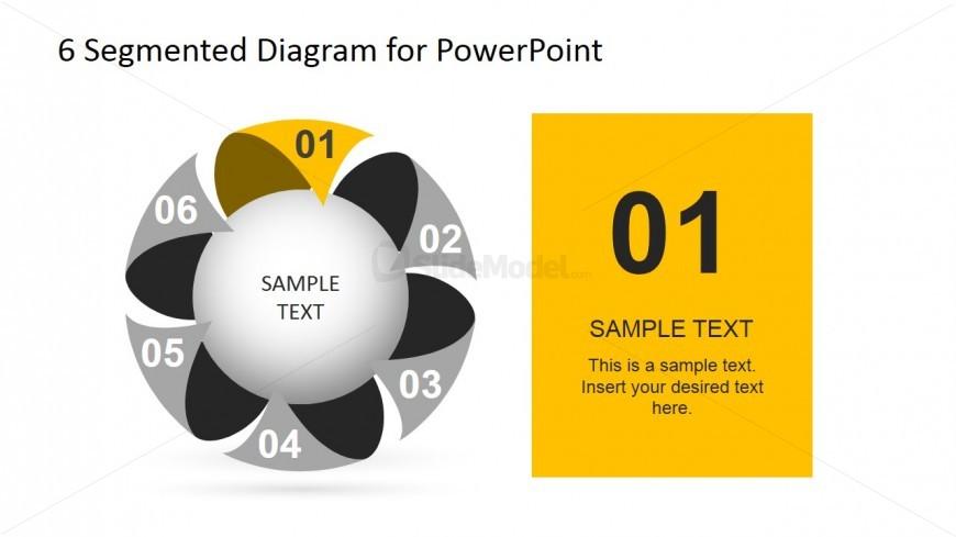 First Step 6 Segmented Diagram