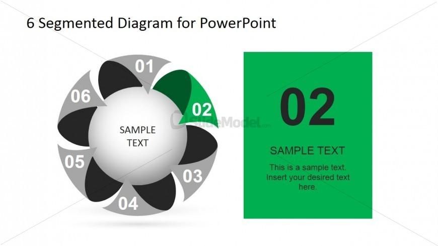 6 Segmented Diagram Step Number Two