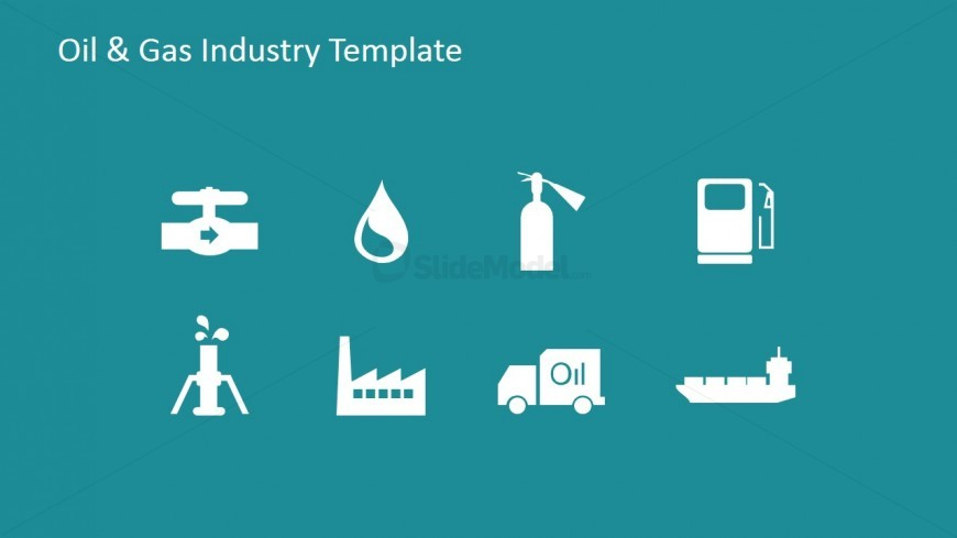 PowerPoint Icons Flat Design
