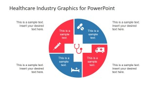 PowerPoint Healthcare Diagram