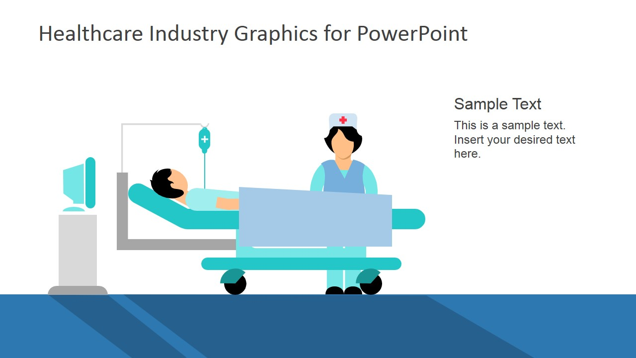 healthcare industry graphics for powerpoint slidemodel