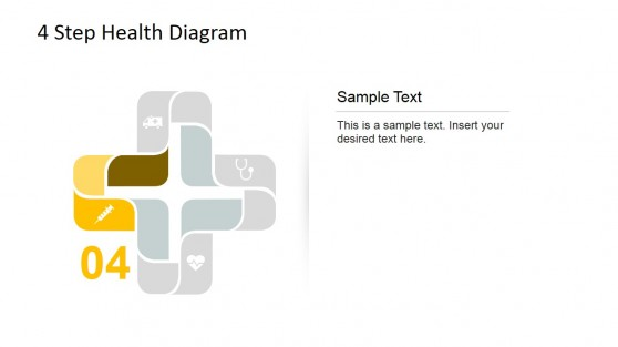 Fourth Step Highlight Healthcare Diagram