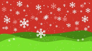 PowerPoint Christmas Snowflake Background