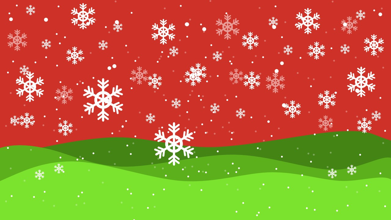 christmas theme background slidemodel