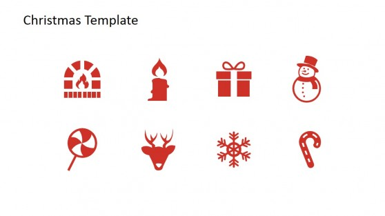 Christmas Themed PowerPoint Icons