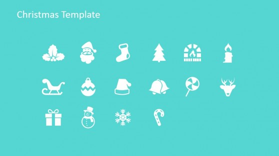 PowerPoint Clipart Shapes for Christmas