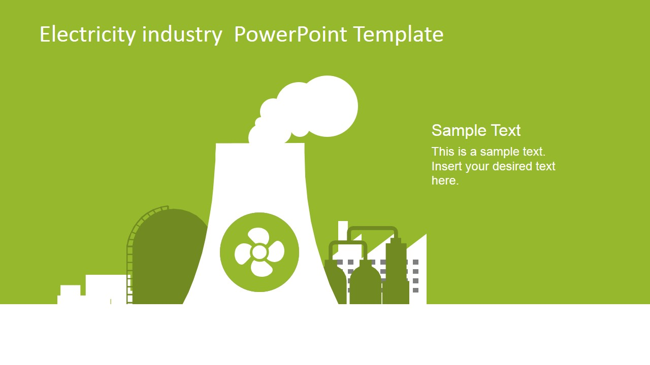 Electricity industry powerpoint template slidemodel powerpoint nuclear tower clipart for powerpoint toneelgroepblik Choice Image