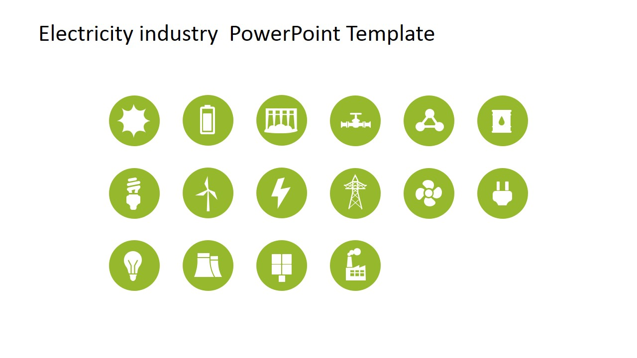 Electricity industry powerpoint template slidemodel vector graphic for electricity industry powerpoint vector clipart for electricity industry toneelgroepblik Images