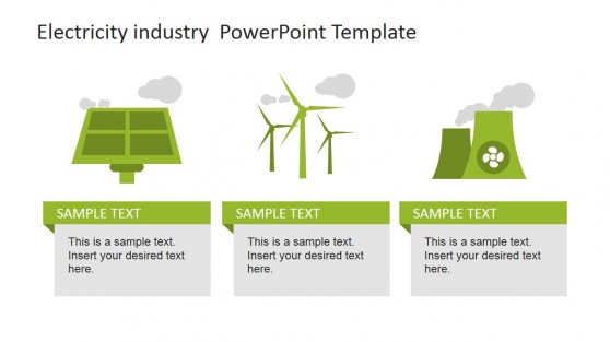 Electricity Industry PowerPoint Green Energy
