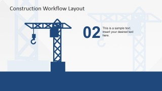 PowerPoint Icon of Construction Crane