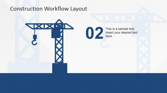 Buildings Construction Crane Clipart Slide