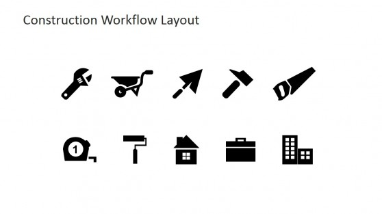 Professional Construction Theme PowerPoint Icons