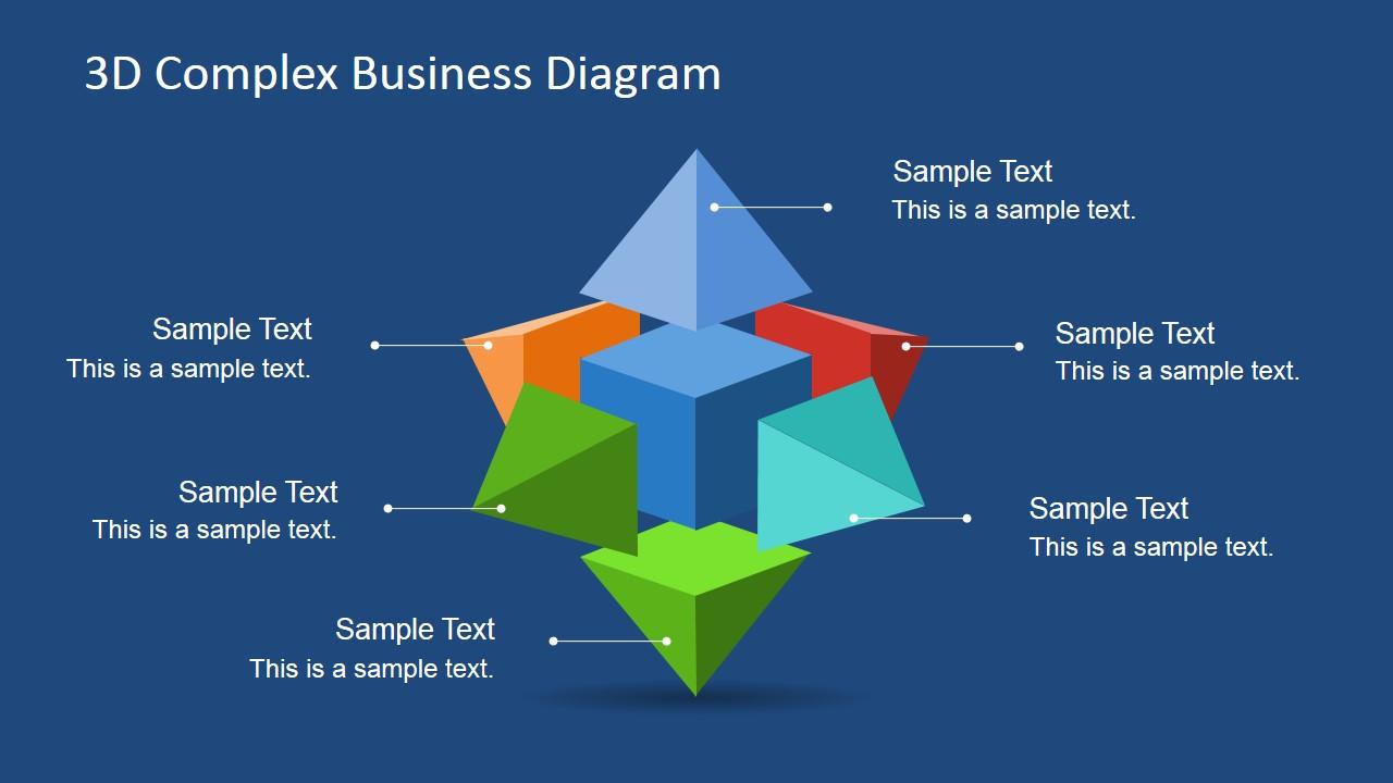D Complex Business Diagram on Business Process Diagram