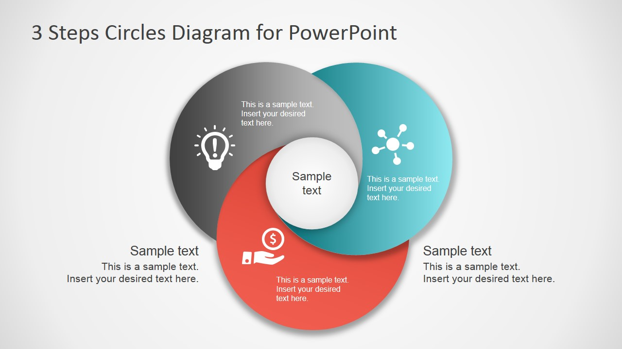 3 step circles diagram for powerpoint slidemodel 3 step circles diagram for powerpoint pooptronica Gallery