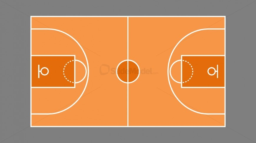 Basketball Tactics Applied Business Slidemodel