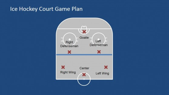 Single Half Court with Players