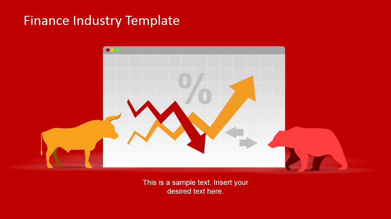 PowerPoint Template of Finance and Baking Industry