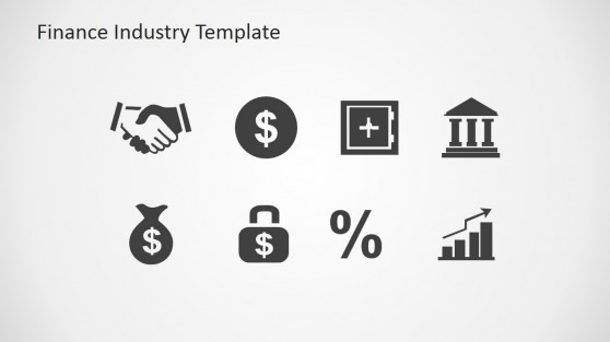 Finance Money and Banking PowerPoint Icons